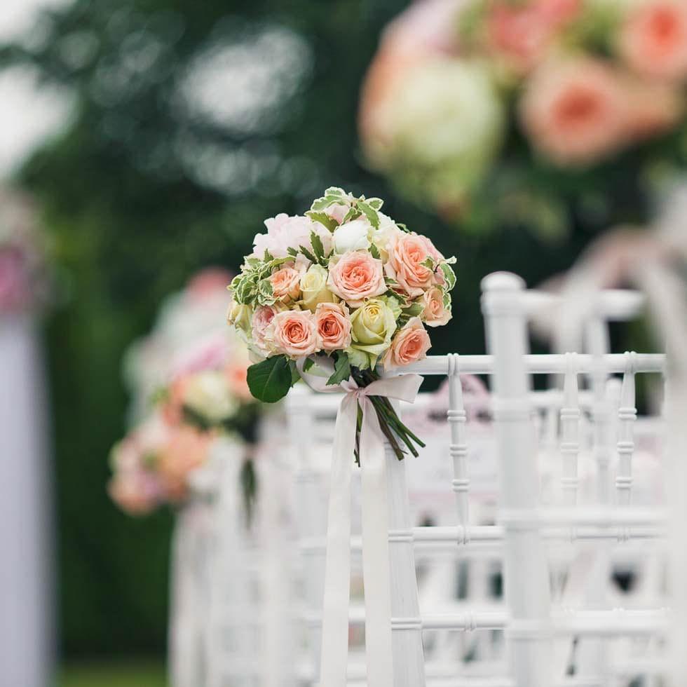 Blumengesteck freie Trauung