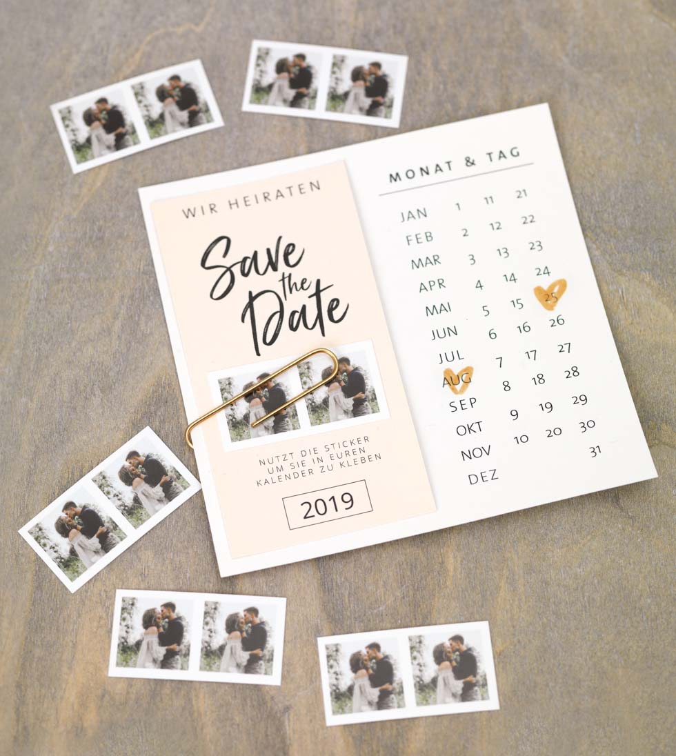 5 Free Save The Date Templates 4