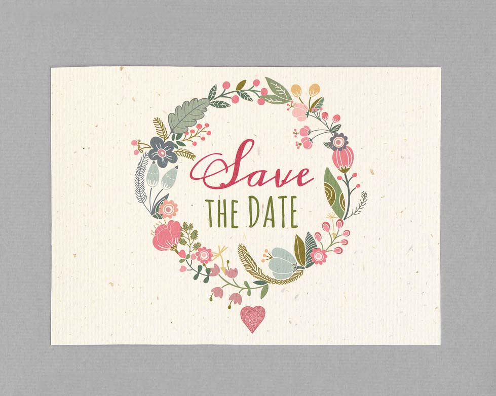 save the date karte hochzeit hochzeit planen mit weddingstyle. Black Bedroom Furniture Sets. Home Design Ideas