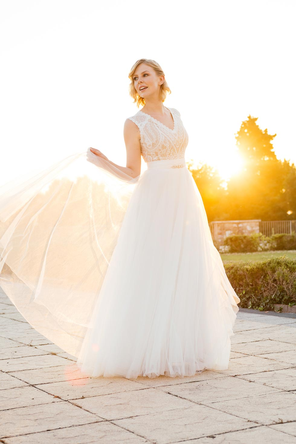 Küss die Braut Brautkleider Liv nude