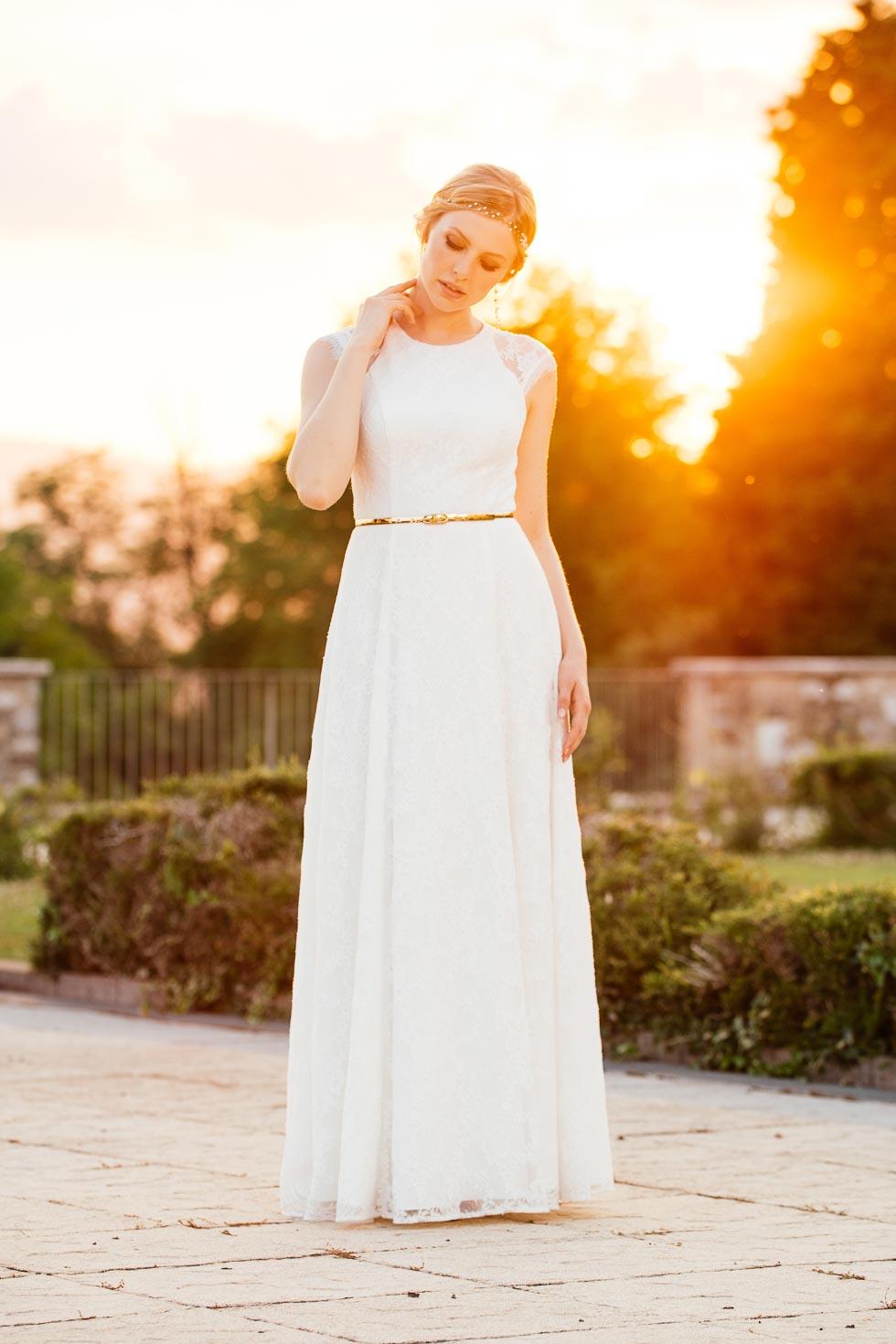 Küss die Braut Brautkleider Vintage
