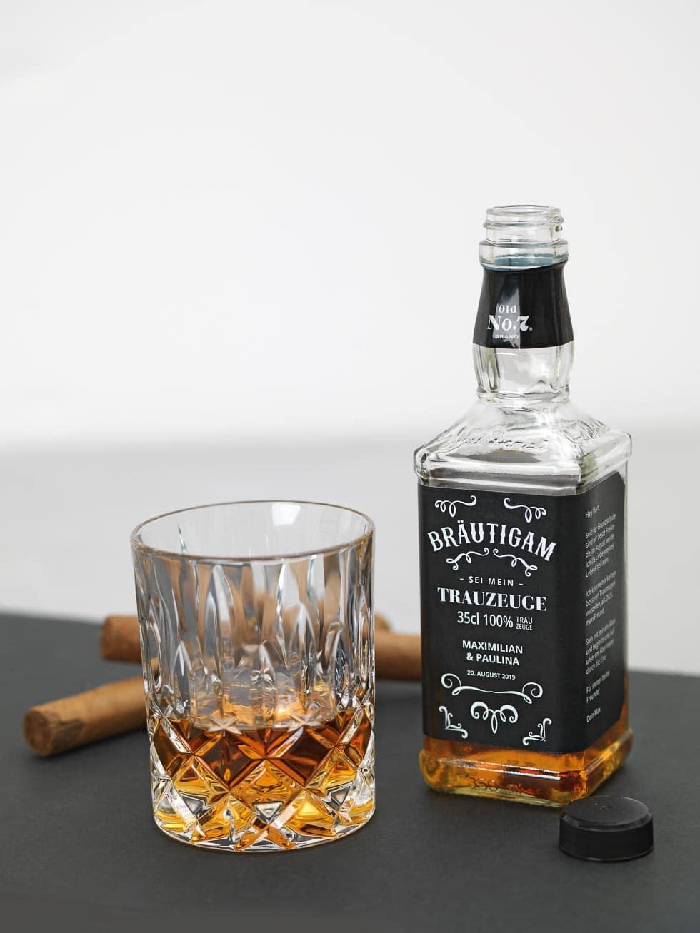 Trauzeuge Geschenk Whiskey