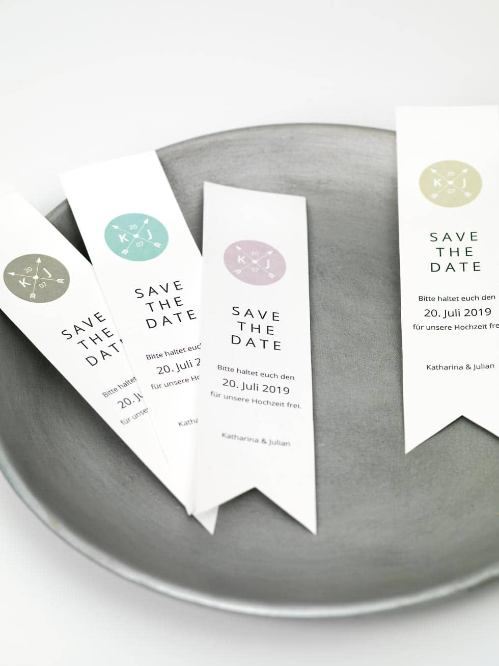 Save-the-Date DIY-Vorlagen – Hochzeit planen mit weddingstyle