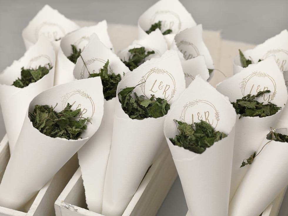 Streublumen Hochzeit DIY