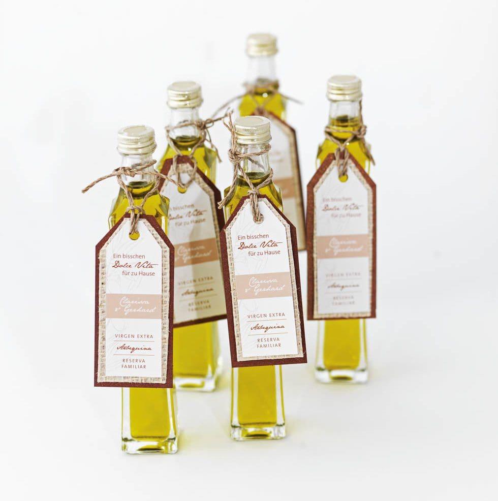 Gastgeschenke Olivenöl