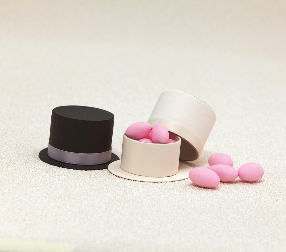 Hochzeitsmandel Verpackung Zylinder