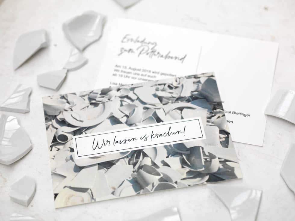 Einladung Polterabend