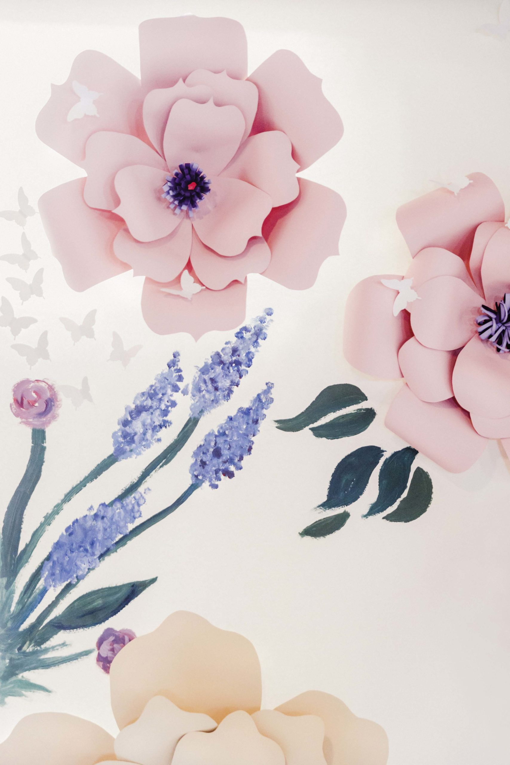 Anleitungen Flowerwall Aus Papier Selbermachen