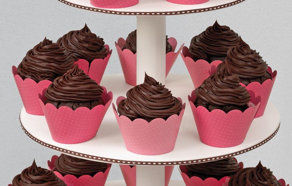 Rezept Cupcakes mit Ganache