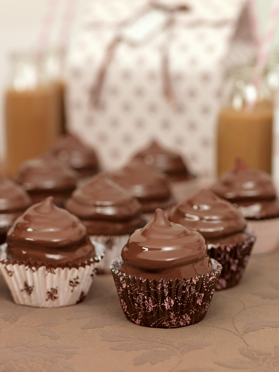 Cupcakes Marshmallow Schokolade