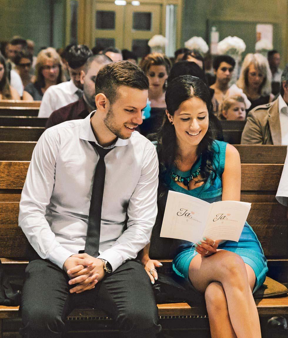 Hochzeitslieder zum Mitsingen aus dem Gesangbuch oder Gotteslob