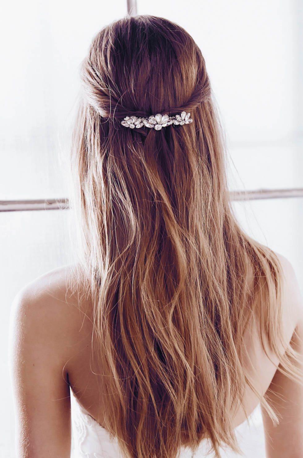 Galerie 90 Brautfrisuren Fur Offen Und Halboffenes Haar