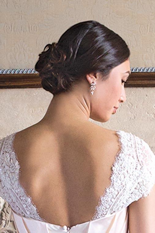 Galerie 19 Brautfrisuren Mit Dutt