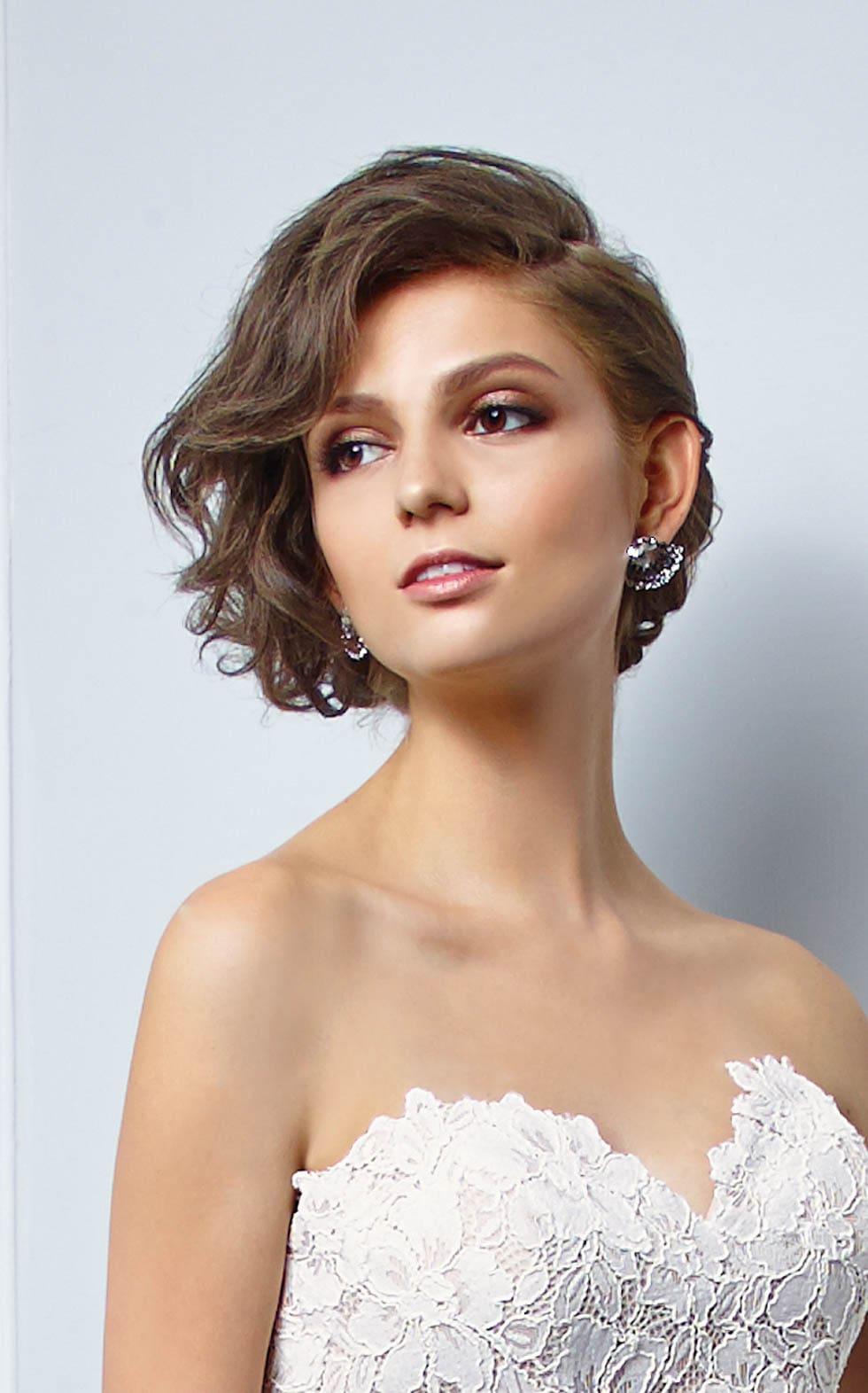 Galerie 26 Brautfrisuren Fur Kurzes Oder Schulterlanges Haar