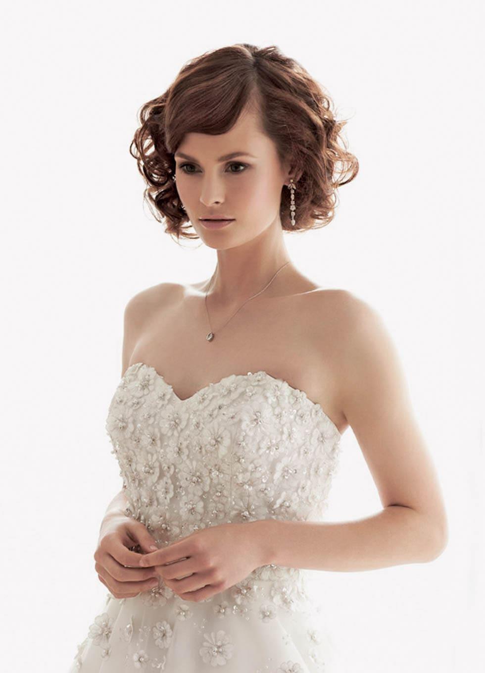 Galerie 26 Brautfrisuren Für Kurzes Oder Schulterlanges Haar