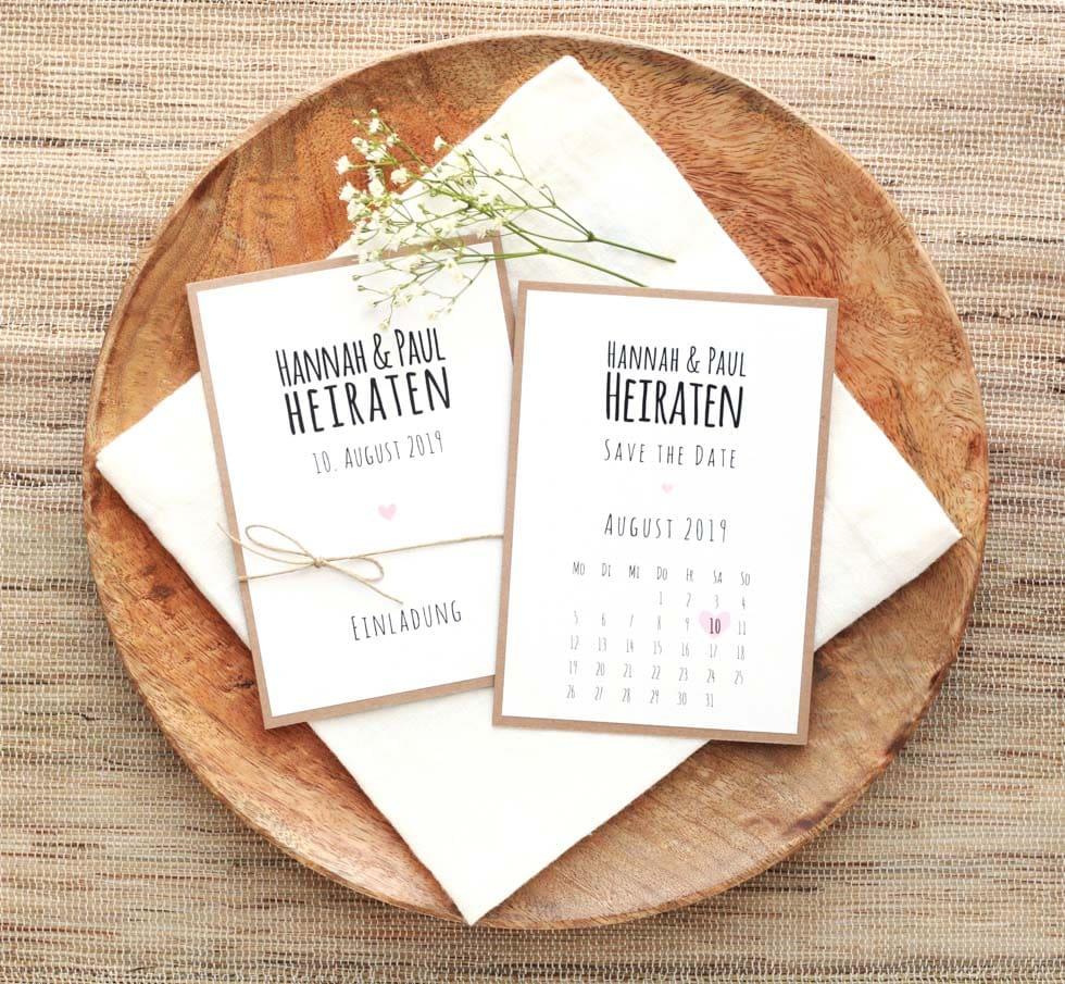 Hochzeitspapeterie Reflect Papeterie und Crafts