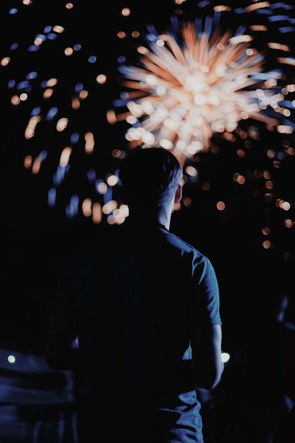 Feuerwerk zum Selber zünden