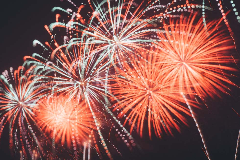 Feuerwerk zur Hochzeit selbst abbrennen