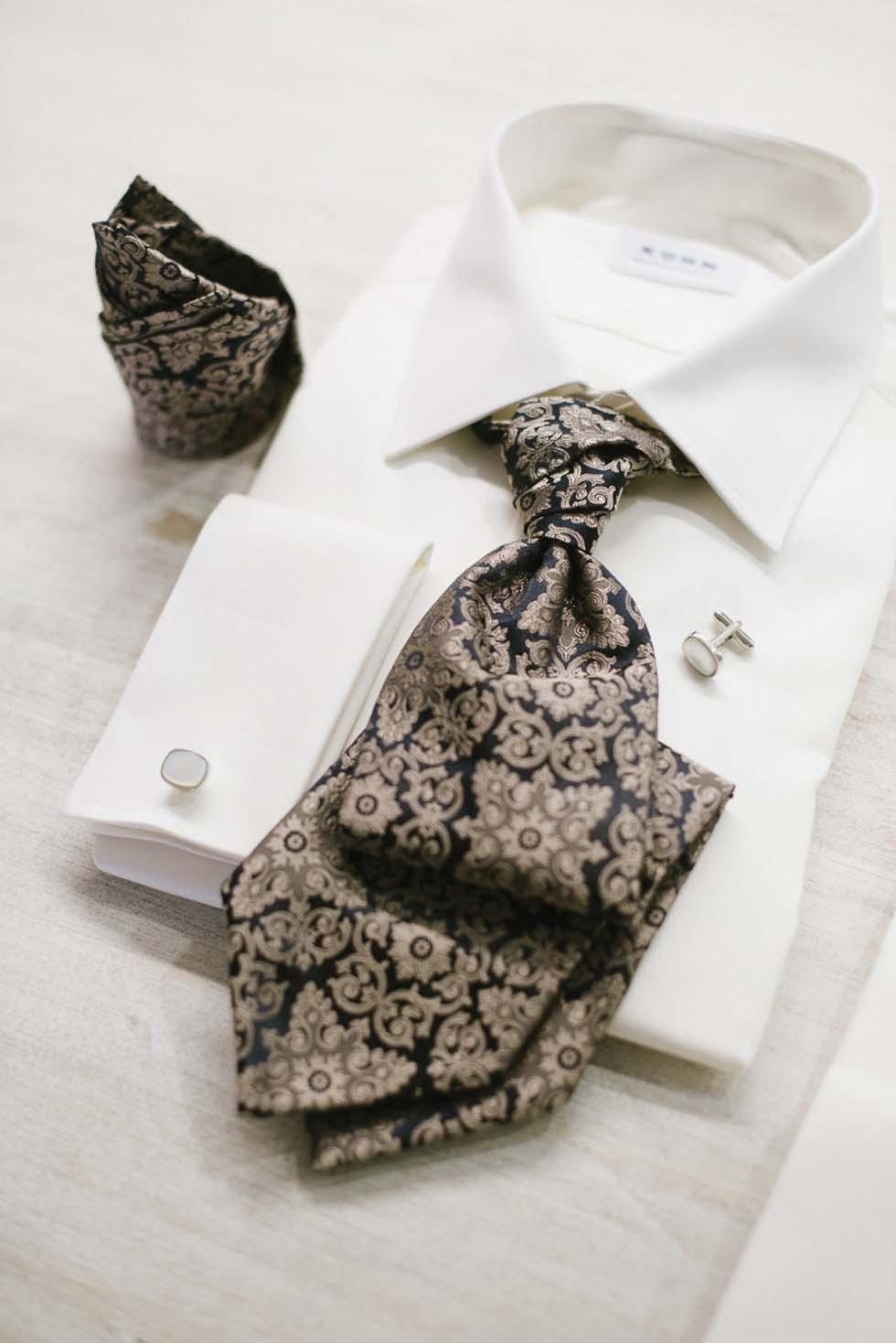 Cooler Hochzeitsanzug