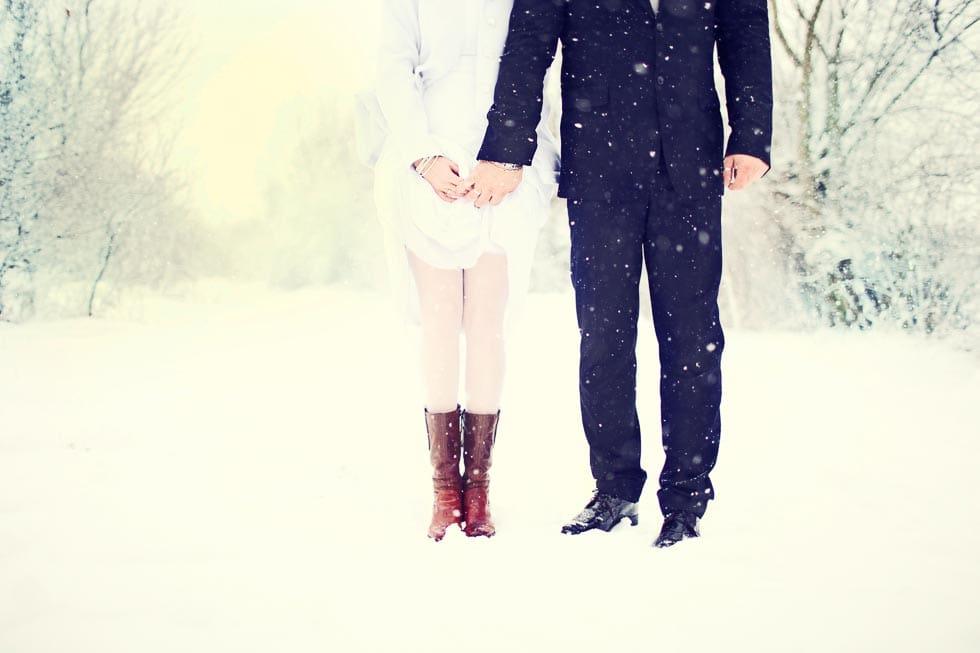 Hochzeitsideen Fur Die Winterhochzeit