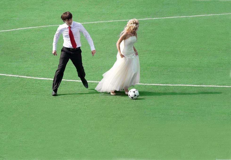 Hochzeitsideen Fussball Hochzeit