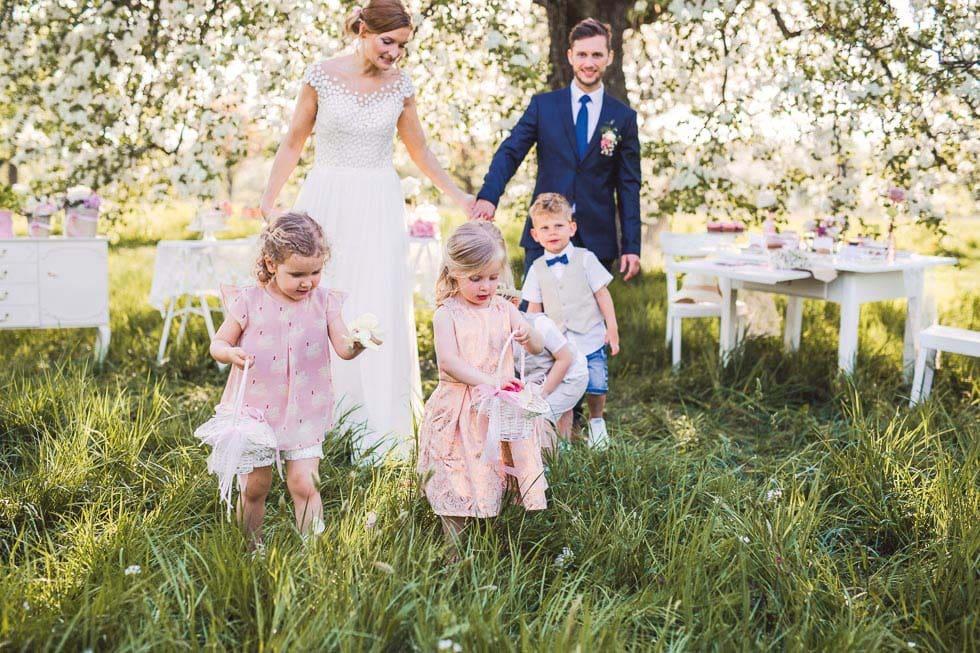 Ideen für Kinder auf Hochzeiten