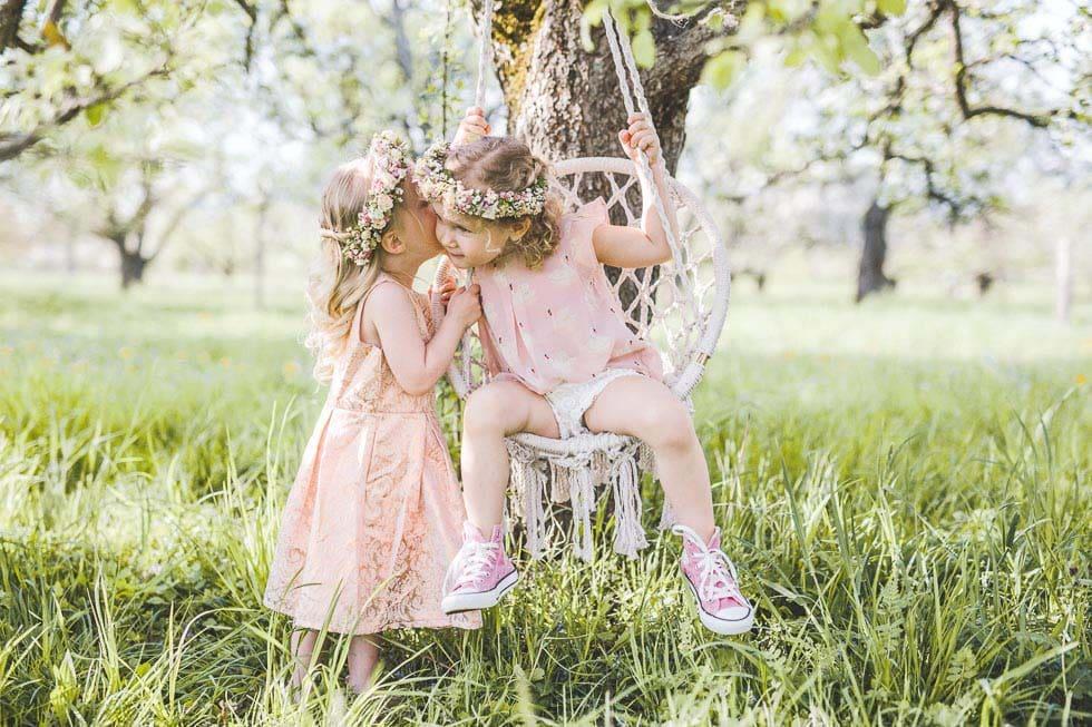 Kinderbetreuung während der Hochzeit
