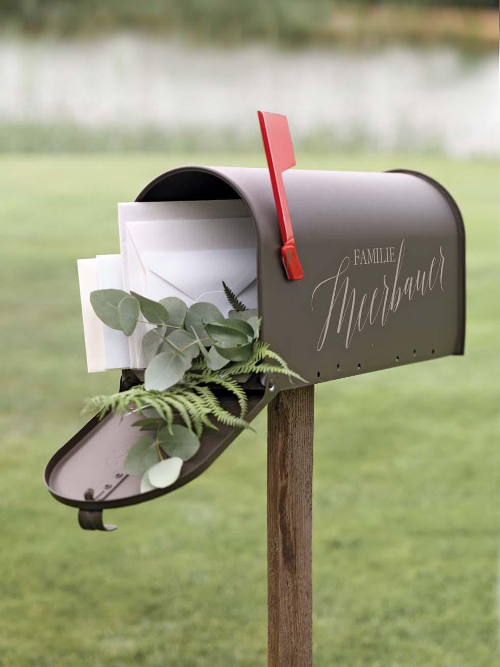 Geldgeschenke Briefkasten