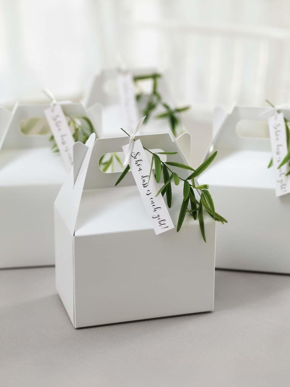 Geschenkbox Gastgeschenk