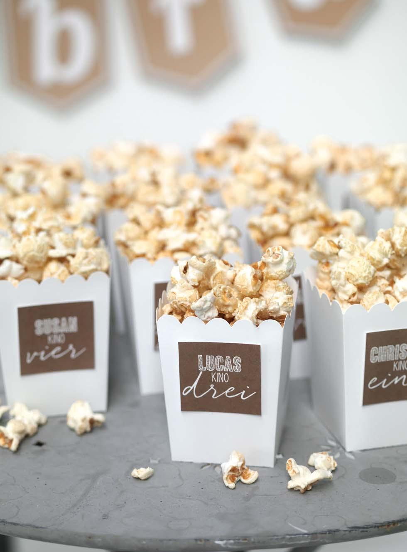 Popcorn Snack Sektempfang