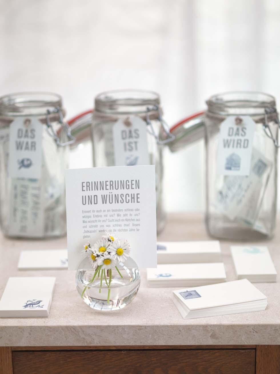 Gästebuch Hochzeit mit Karten