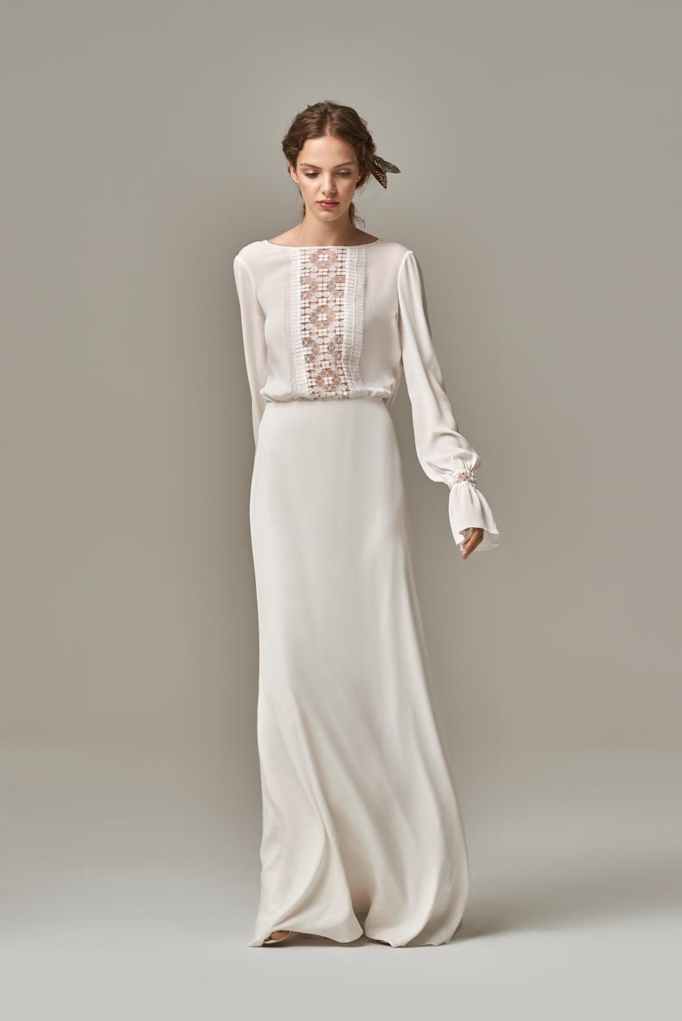 Brautkleider Boho von Anna Kara