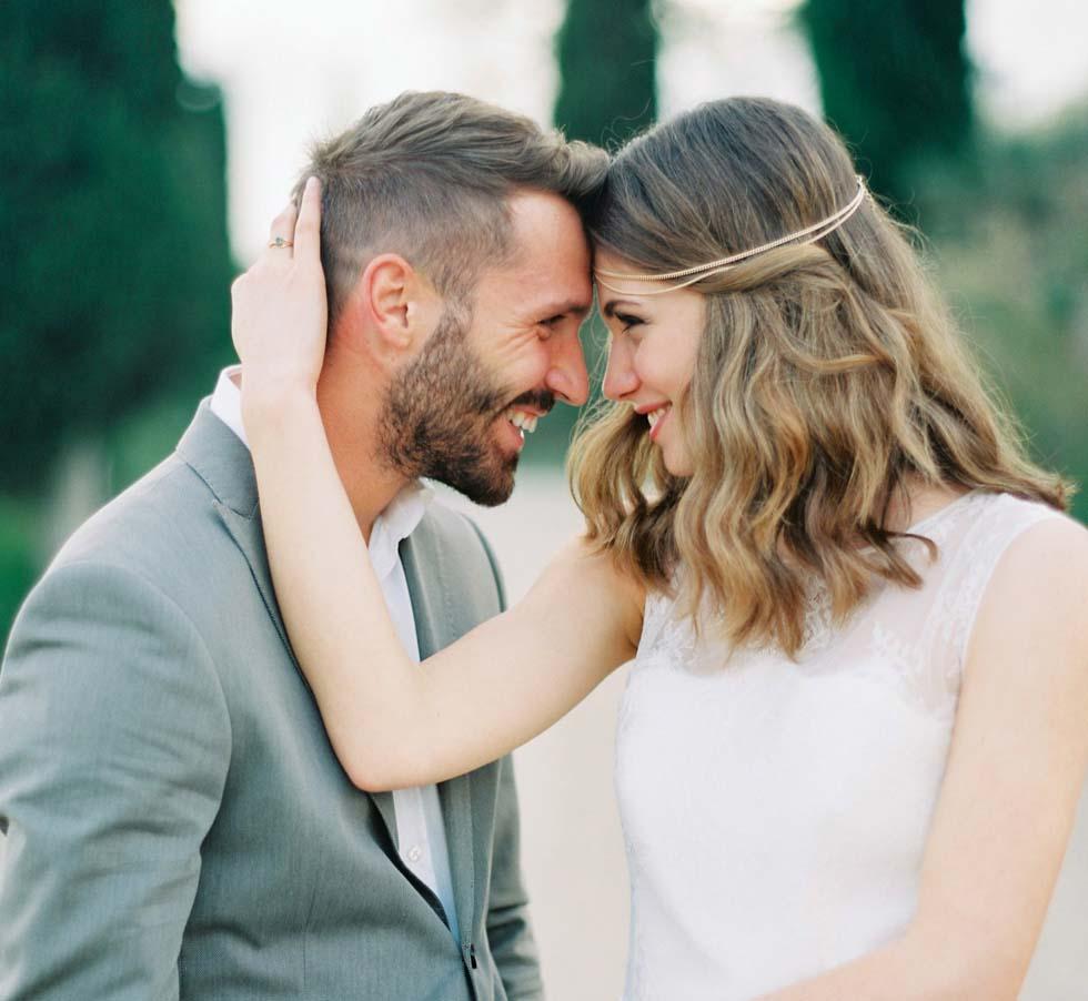 Hochzeitsshooting Brautpaar Toskana
