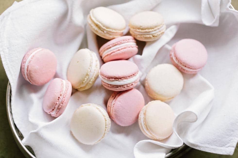 Macarons Candybar Hochzeit