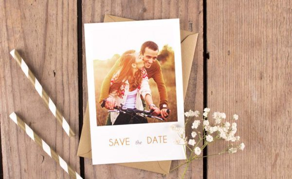 Save the Date Karte Foto