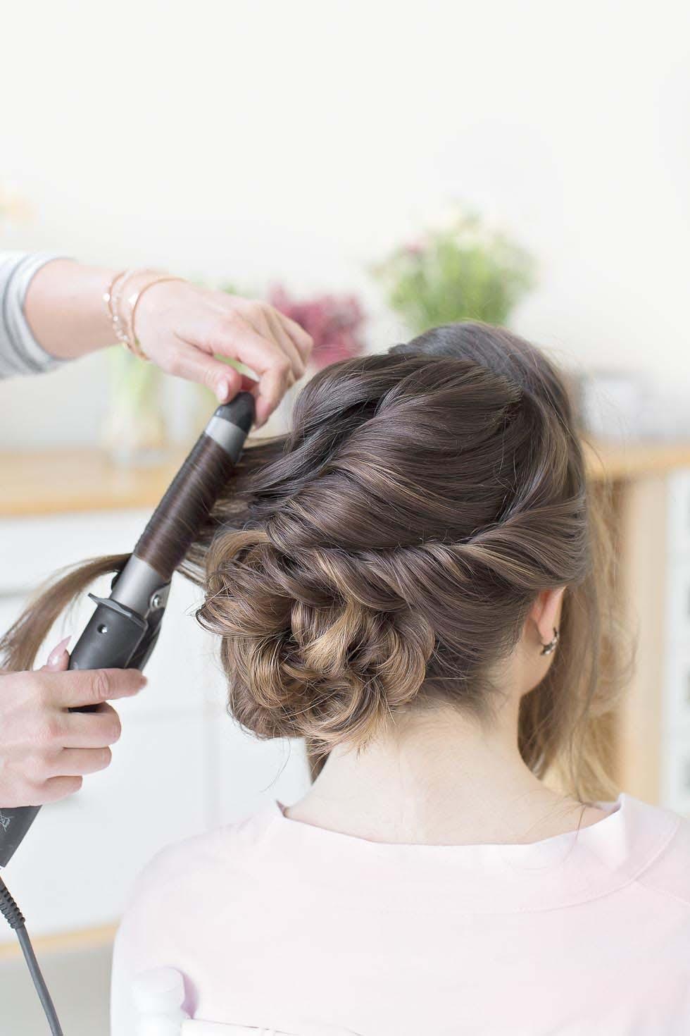 Frisur hochgesteckt Braut