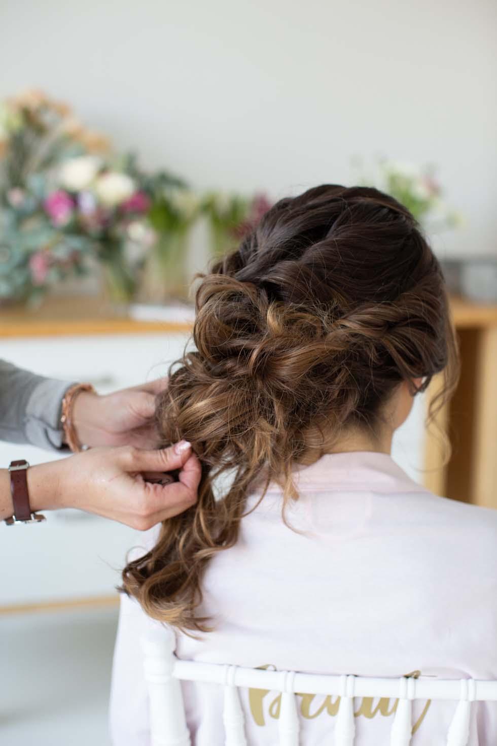 Anleitung Brautfrisur Mit Blumen