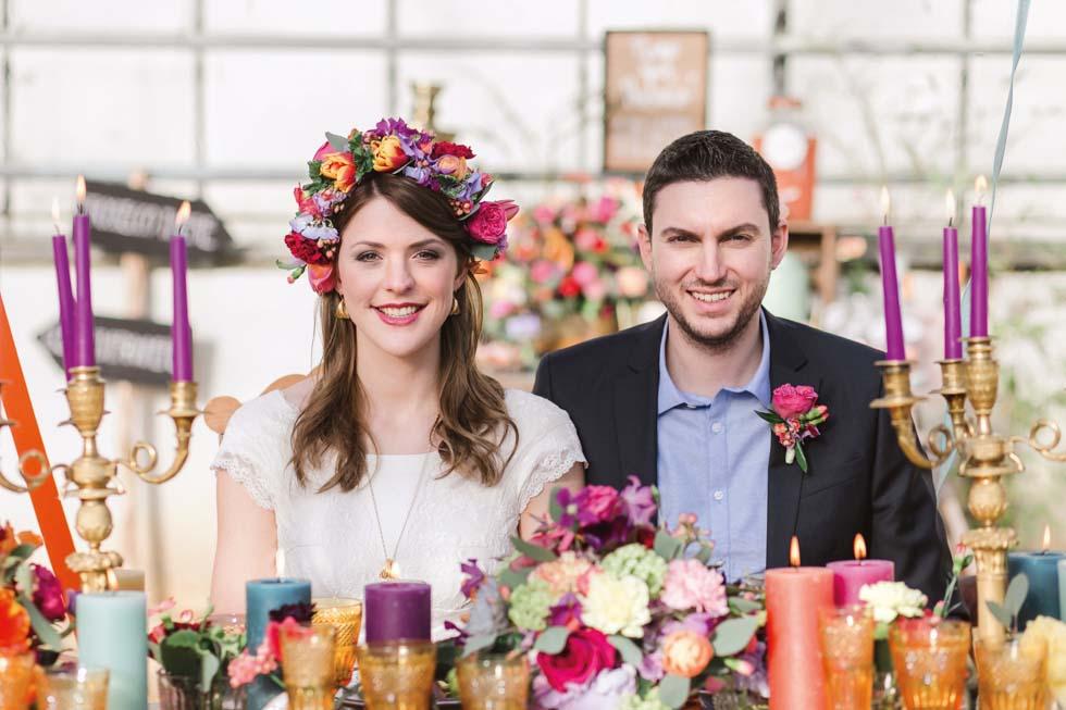 Brautpaar Hochzeitsfeier