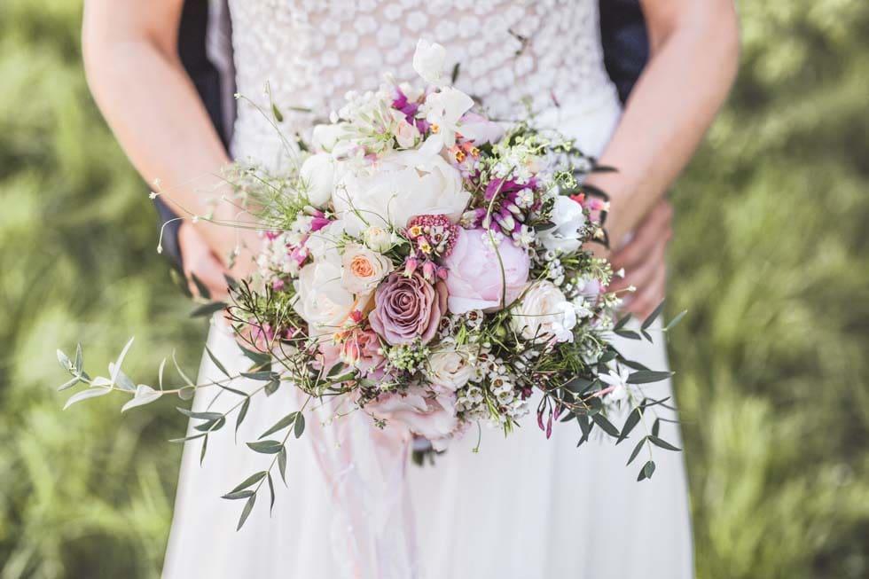 Brautstrauß Blütentraum