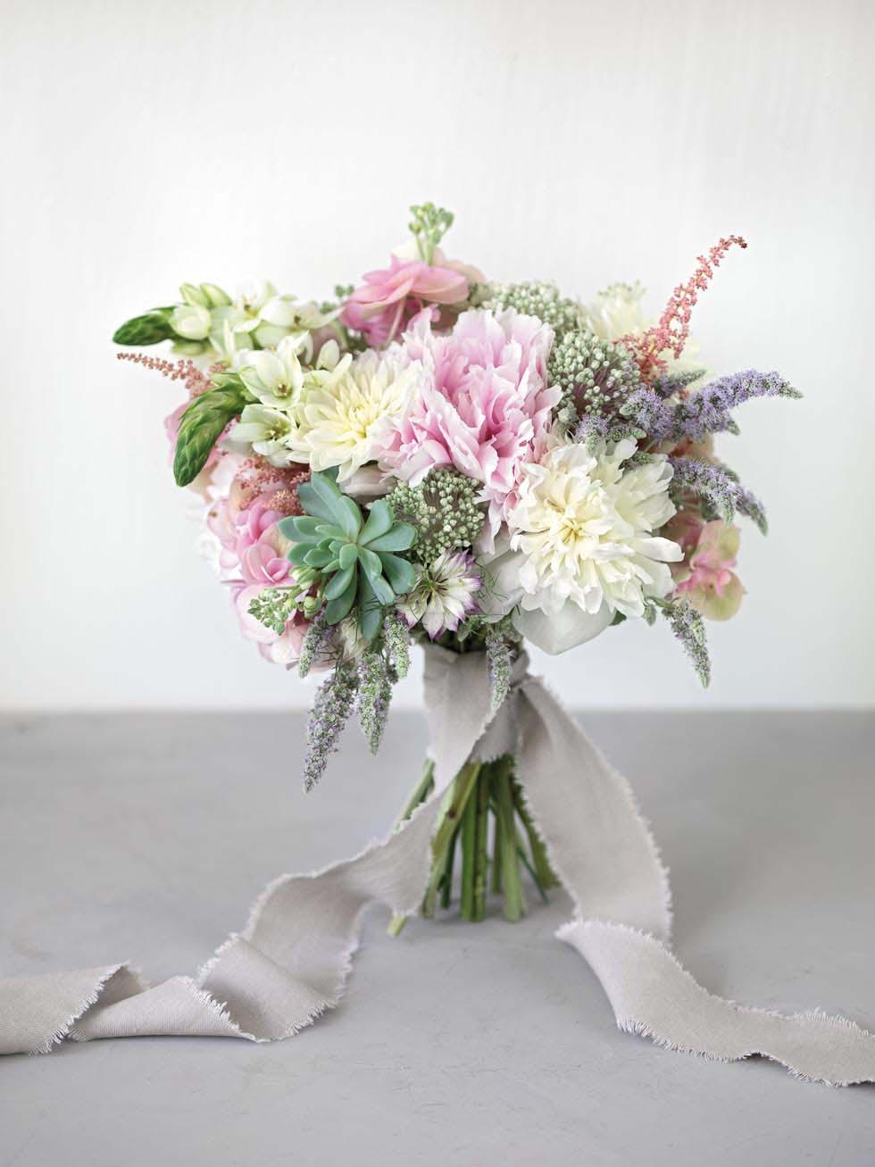 Brautstrauss Rosa 51 Inspirationen Mit Rosafarbenen Blumen