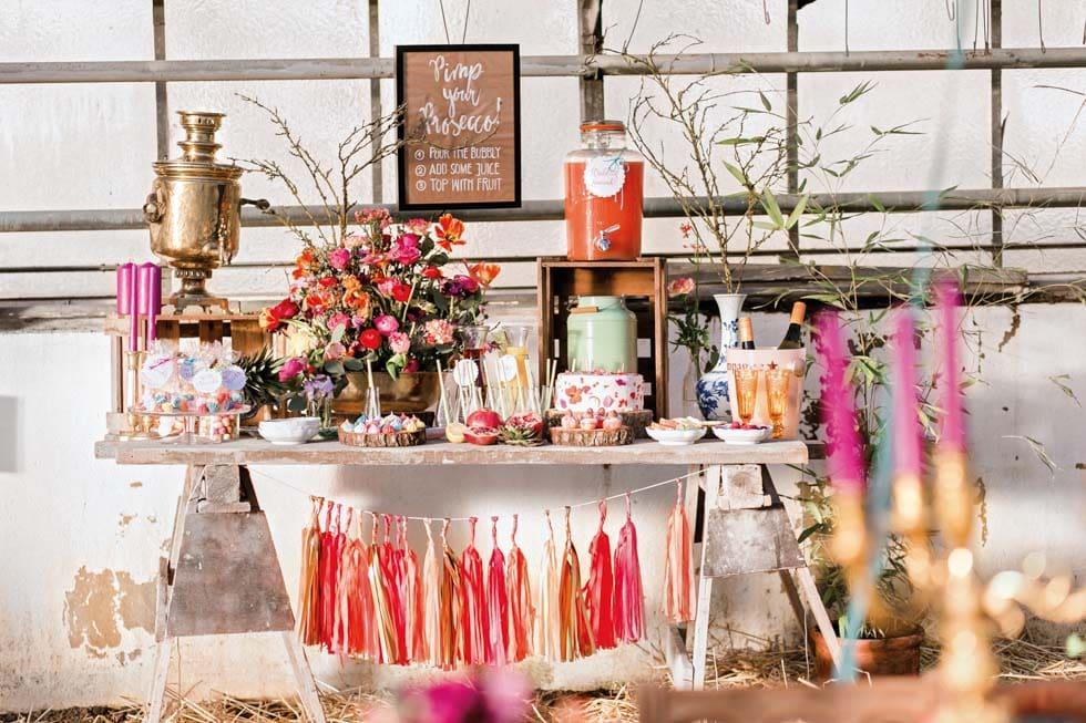 Candy Bar Hochzeit Hochzeitskonzept
