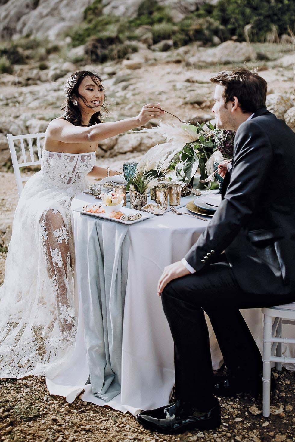 Hochzeit zu zweit Moodboard