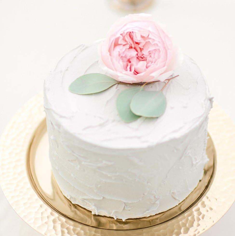 Hochzeitstorte Rose