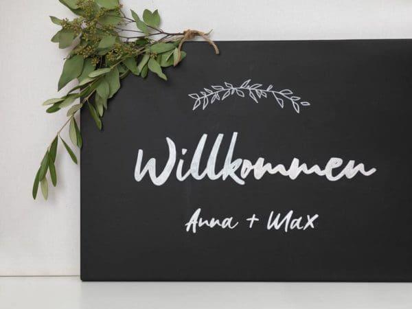 Hochzeitsschilder Tafel Vorlagen