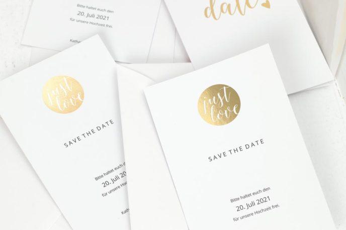 Save The Date Karten Zur Hochzeit Beispiele Und Ideen