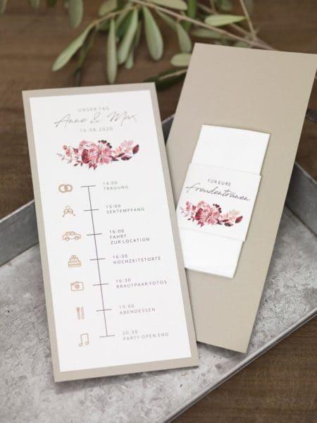 Timeline Hochzeit Vorlage