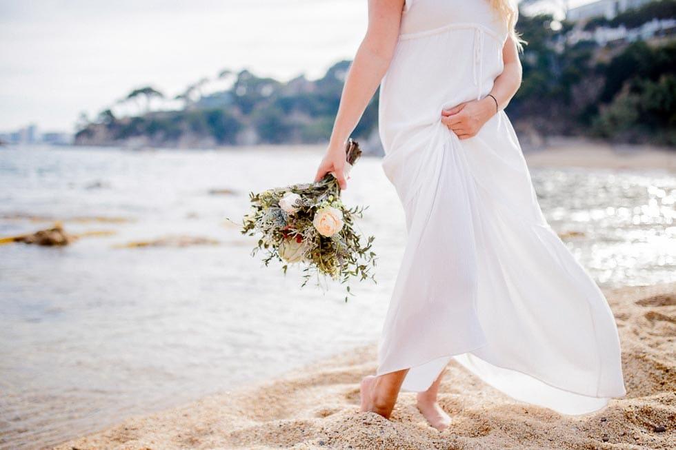 Verlobungsshooting Kleid