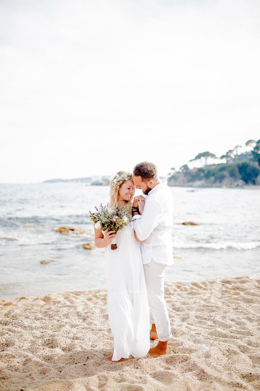 Verlobungsshooting Strand