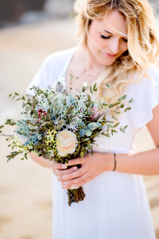 Verlobungsshooting Blumenstrauß