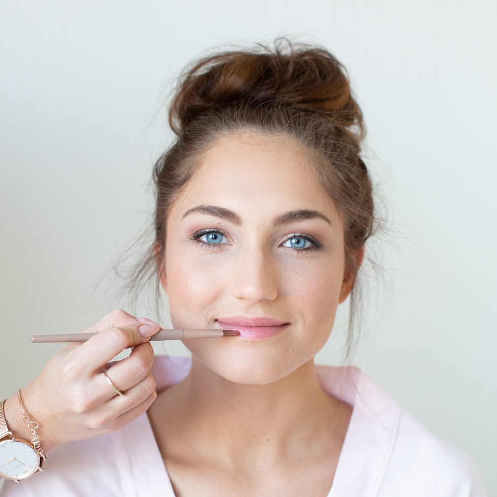 Braut-Make-up Schritt für Schritt
